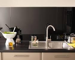 verre pour credence cuisine crédence verre ou inox 13 modèles déco pour la cuisine