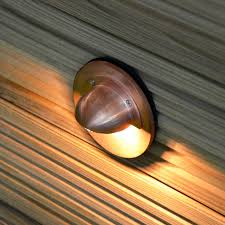 copper caverna recessed garden step light