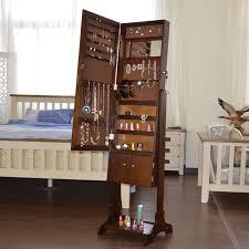 dressing mirror bedroom mirror cabinet lockers pastoral body