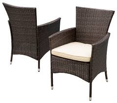 clementine outdoor dining chairs set of 2 contemporary