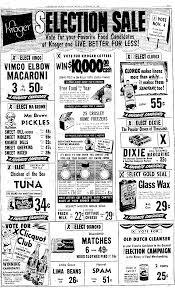 will kroger be open thanksgiving vintage kroger ad vimco elbow macaroni plain dealer clevelnd