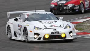 lexus lfa racing gazoo racing prepares lexus lfa for nurburgring 24 hours assault