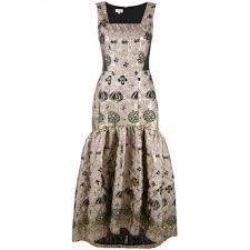 temperley london london tower jacquard dress p9g9hcvh