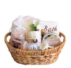 gift baskets canada himalayan pink salt spa gift basket gift baskets canada online