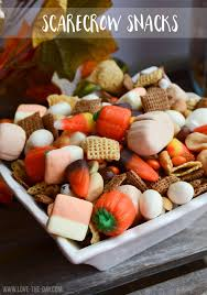 fall snacks with jet puffed by the day