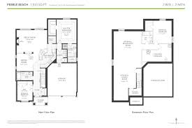 thornbury the pebble beach floor plans trailwoods