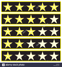 Flag Rank Elements Star Rank Game Interface Ranking And Rating Icon Vector