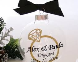 engagement ornament design idea of chrismas