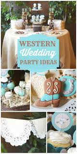 Bridal Shower Decoration Ideas by Shabby Chic Western Wedding Shower Bridal Wedding Shower