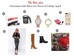 gift giving guide for tweens and college aged