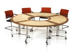 Circular Table by Gemini Round Table With Open Center