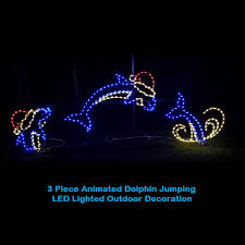 led outdoor christmas decorations lighted animal decorations 4