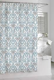 Kassatex Shower Curtain Buy Shower Curtain Kassatex Scrolled Ikat Blue Grey White 72 X 72