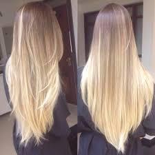 Frisuren Lange Haare Glatt Stufig by Die Besten 25 Stufenschnitt Lange Haare Ideen Auf