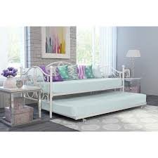 White Metal Daybed With Trundle Avenue Greene Bombay Metal Daybed And Trundle