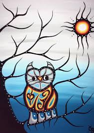 Art School Owl Meme - chelsea brooks painter aboriginal arts collective of canada