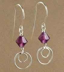 earrings ideas modern amethyst earrings jewelry design ideas