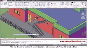 autocad 3d house modeling tutorial 7 3d home 3d building