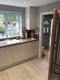 gloss porcelain kitchen fitted in stevenage hertfordshire