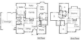 split level home plans house plan baby nursery front to back split level house plans