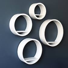 wall shelves design modern circular wall shelves design circular