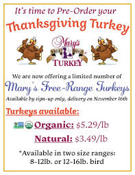pre order your thanksgiving turkey today barrels bins