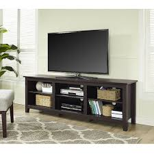 Media Storage Shelves by Tv Cabinet Stand Console Large Open Dvd Media Storage Shelves Wood