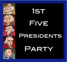 First Five Presidents On Pinterest President List List Of