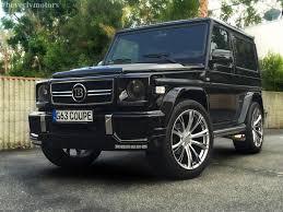 2001 Benz 2001 Mercedes Benz G320 Coupe G63 Brabus Black On Black G55 G550