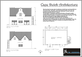 cape dutch style house plans u2013 house style ideas