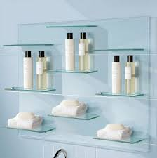 shelves in bathrooms ideas glass shelves for bathroom for decoration best furniture