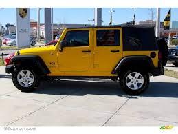 yellow jeep wrangler unlimited 2008 detonator yellow jeep wrangler unlimited x 4x4 2495148