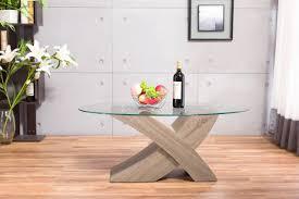 Modern Oak Furniture New Designer Oval