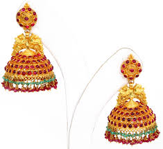 gold jhumka earrings design opulent traditional gold jhumka collection trendy mods