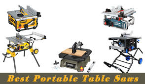 hitachi table saw review best portable table saws top 5 portable table saw reviews
