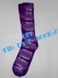 diy tie dye socks youtube