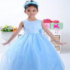 party wear western dress children birthday dress for baby