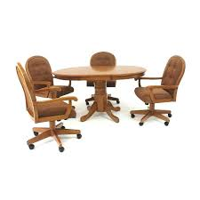 Round Office Tables And Chairs  Adammayfieldco - Office kitchen table and chairs