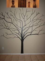 easy tree wall paint design dzqxh