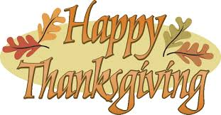 word clipart happy thanksgiving 4068717
