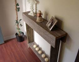 Small Sofa Table by Rustic Sofa Table Etsy
