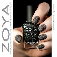 friday finds zoya pixie dust textured nail laquer in dahlia
