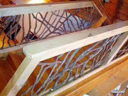 Indoor Balcony by Interior Railing With Wood Handrails Also Foyer Chandelier And