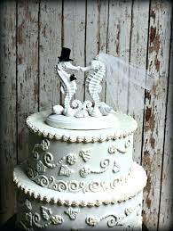 bling wedding cake toppers emejing seahorse wedding cake topper pictures styles ideas