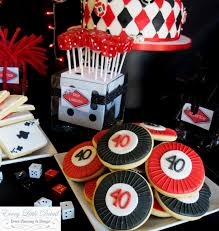 At Home Cake Decorating Ideas Interior Design Creative Casino Themed Party Decorations