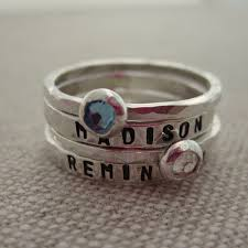 mothers day rings with names 43 best birthstone bracelets for images on