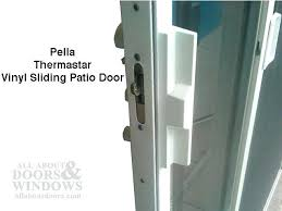 sliding glass door handle and lock old sliding glass door lock parts pella patio door handle kit