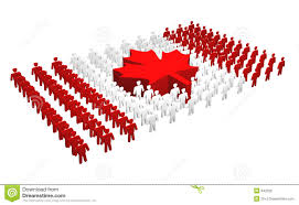 Candaian Flag Canadian People Canada Flag Stock Illustration Image 642326