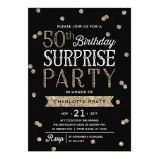 surprise party invitations u0026 announcements zazzle