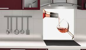 fonds de cuisine crédence de cuisine en verre beautiful beeindruckend credence deco